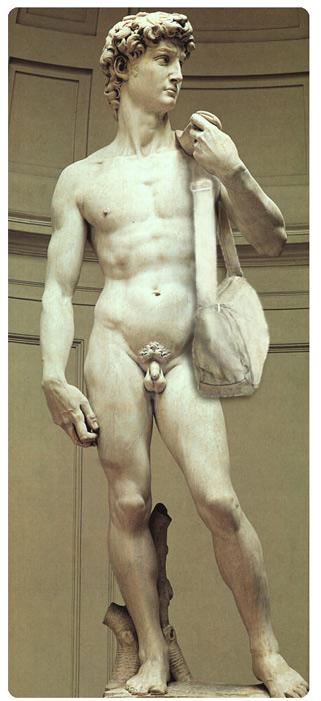 David Statue Bag