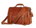 """""""Reynosa"""" Men's Full Grain Leather Convertable Travel Bag & Backpack"""