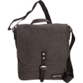 "Kenneth Cole Reaction ""Long Day To Go"" Tablet Case Messenger Bag - Charcoal Gray"