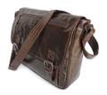 """""""Lisbon 3"""" Men's Trendy Vintage Leather Leisure Bag & Tablet Case"""