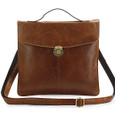 """Tommy 1"" Compact Vintage Leather iPad & Tablet Case"