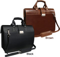 Amerileather Leather Doctor's Carry Bag - Black or Brown