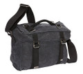 "Ducti ""Ammo"" Laptop Messenger Bag - Black Grey"