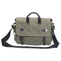 "Ducti ""Miramar"" Laptop Messenger Bag - Khaki Tan"
