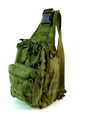 "Amik ""Yucca Corridor"" Men's Tactical Single Shoulder Crossbody Sling - Military Green"