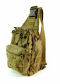 "Amik ""Yucca Corridor"" Men's Tactical Single Shoulder Crossbody Sling - Khaki Tan"