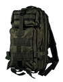 Men's Military Style Medium Light Tactical Daypack - Black