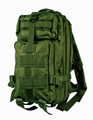 Men's Military Style Medium Light Tactical Daypack - Military Green