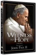 WITNESS TO HOPE - The Life of John Paul II - DVD