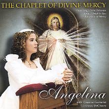 Angelina - PRAYS THE  CHAPLET OF DIVINE MERCY