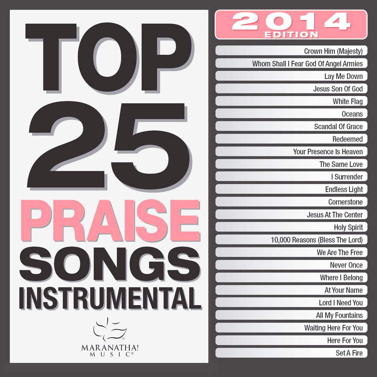 TOP 25 PRAISE SONGS -INSTRUMENTAL - 2014