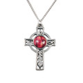 CELTIC CROSS PEWTER PENDANT