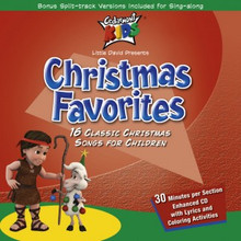 christmas favorites 16 classic christmas songs for children