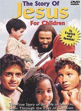 THE STORY OF JESUS FOR CHILDREN -Ages 5-105 - DVD