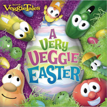 A VERY VEGGIE EASTER - CD - by Veggie Tales