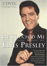 HE TOUCHED ME - 2 DVDs - ELVIS PRESLEY