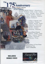 THE 175th ANNIVERSARY OF THE CATHOLIC CHURCH IN FORT MADISON, IOWA - DVD