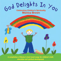 GOD DELIGHTS IN YOU SHEET MUSIC BOOK by Monica Brown