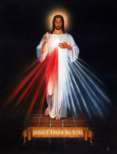 DIVINE MERCY- Print - by Tommy Canning