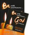 BE STILL AND KNOW...GOD IS HERE: CHILDREN'S MANTRAS FOR MEDITATION AND PRAYER- CD PLUS BOOKLET by Monica Brown