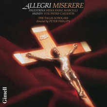 ALLEGRI MISERERE with The Tallis Scholars