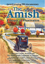 THE AMISH - A PEOPLE OF PRESERVATION - DVD