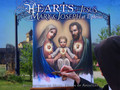 THE HEARTS OF JESUS, MARY & JOSEPH at Ephesus by Benedictines of Mary,Queen of Apostles