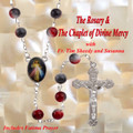 THE ROSARY & THE CHAPLET OF DIVINE MERCY - 1 CD -  with Fr. Timothy Sheedy and Susanna