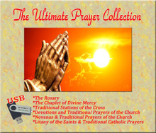 THE ULTIMATE PRAYER COLLECTION - USB -front