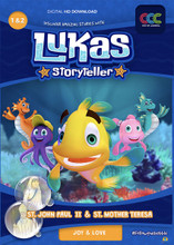 LUKAS STORYTELLER EPISODES 1 & 2 - 1 DVD