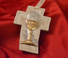 First Holy Communion Hanging Cross Made in Italy