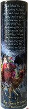 THREE WISEMEN - LED Flameless Devotion Prayer Candle
