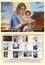 Graces and Mercy - 2019 Tommy Canning Art Calendar