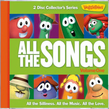 ALL THE SONGS -VOL 1 by Veggie Tales - 2 CD