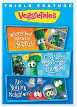 Triple Feature Vol 2 (Where's God/God Wants / Neighbor)  by Veggie Tales - DVD