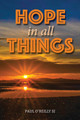 HOPE IN ALL THINGS Written by Paul O'Reilly SJ - Paperback