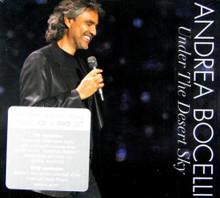 UNDER THE DESERT SKY (CD & DVD) by Andrea Bocelli