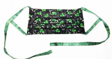 Shamrock Mask - Double sided - Fully lined - Washable - Reusable