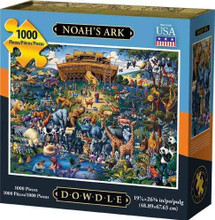 NOAH'S ARK - Traditional Puzzle 1000