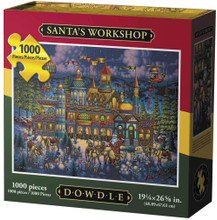 SANTA'S WORKSHOP - Traditional Puzzle 1000