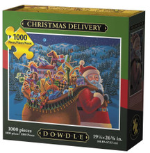 CHRISTMAS DELIVERY - Traditional Puzzle 1000