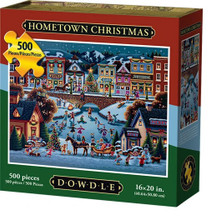 HOMETOWN CHRISTMAS - Traditional Puzzle 500