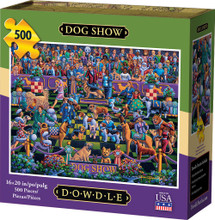 DOG SHOW - Traditional Puzzle