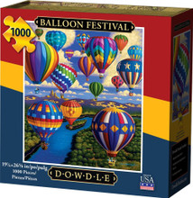 BALLOON FESTIVAL - Traditional Puzzle