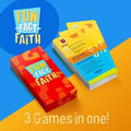 FUN-FACT-FAITH - 3 GAMES IN ONE