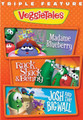 TRIPLE FEATURE-MADAME BLUEBERRY-RACK SHACK & BENNY-JOSH AND THE BIG WALL - DVD