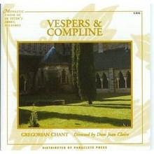VESPERS & COMPLINE by Gregorian Chant