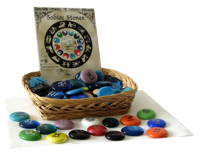 Zodiac Stone Assortment, 100 pieces