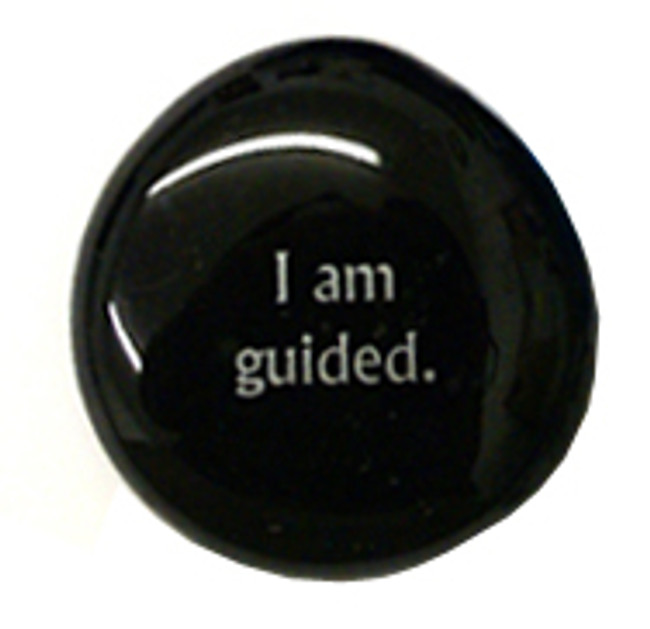 I am guided.