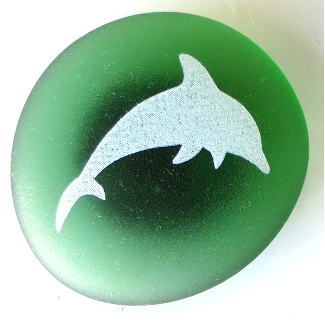 Mermaid Message Magnet, Dolphin